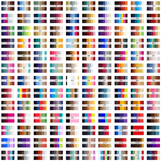 Beyonce colour schemes